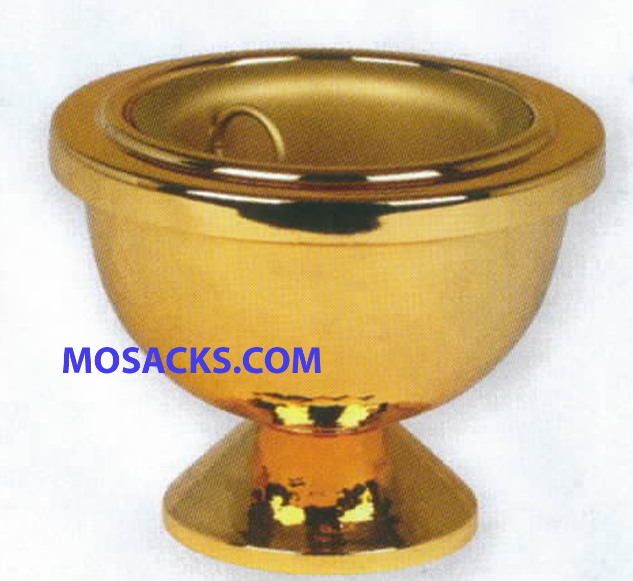 K Brand Brazier 24k Bright Gold Plated with removable liner-K1003