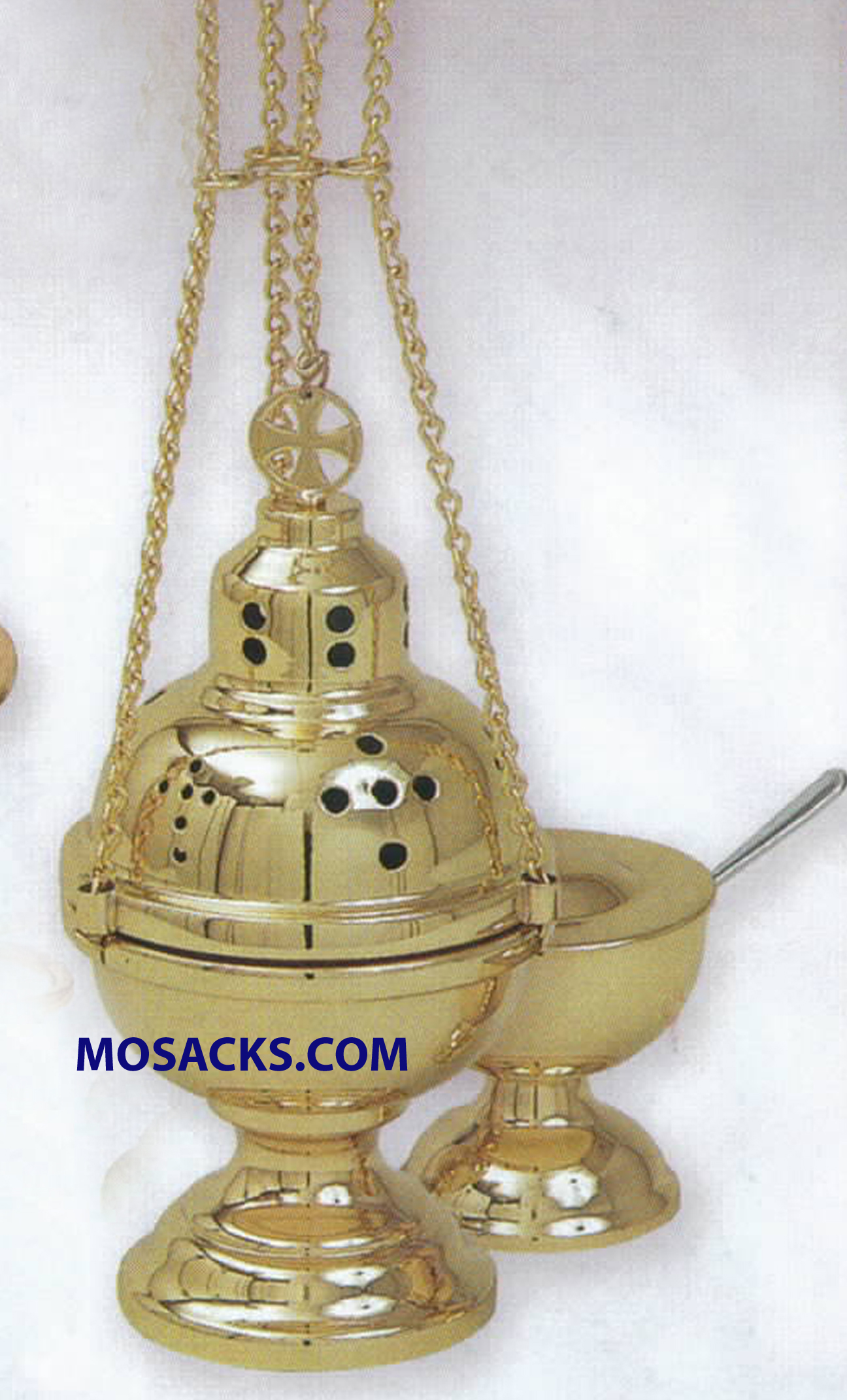 K Brand Censer and Boat 8- 5/8 Inch-K701