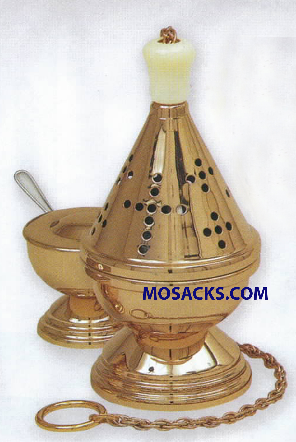K Brand Censer And Boat 9 Inch-K601