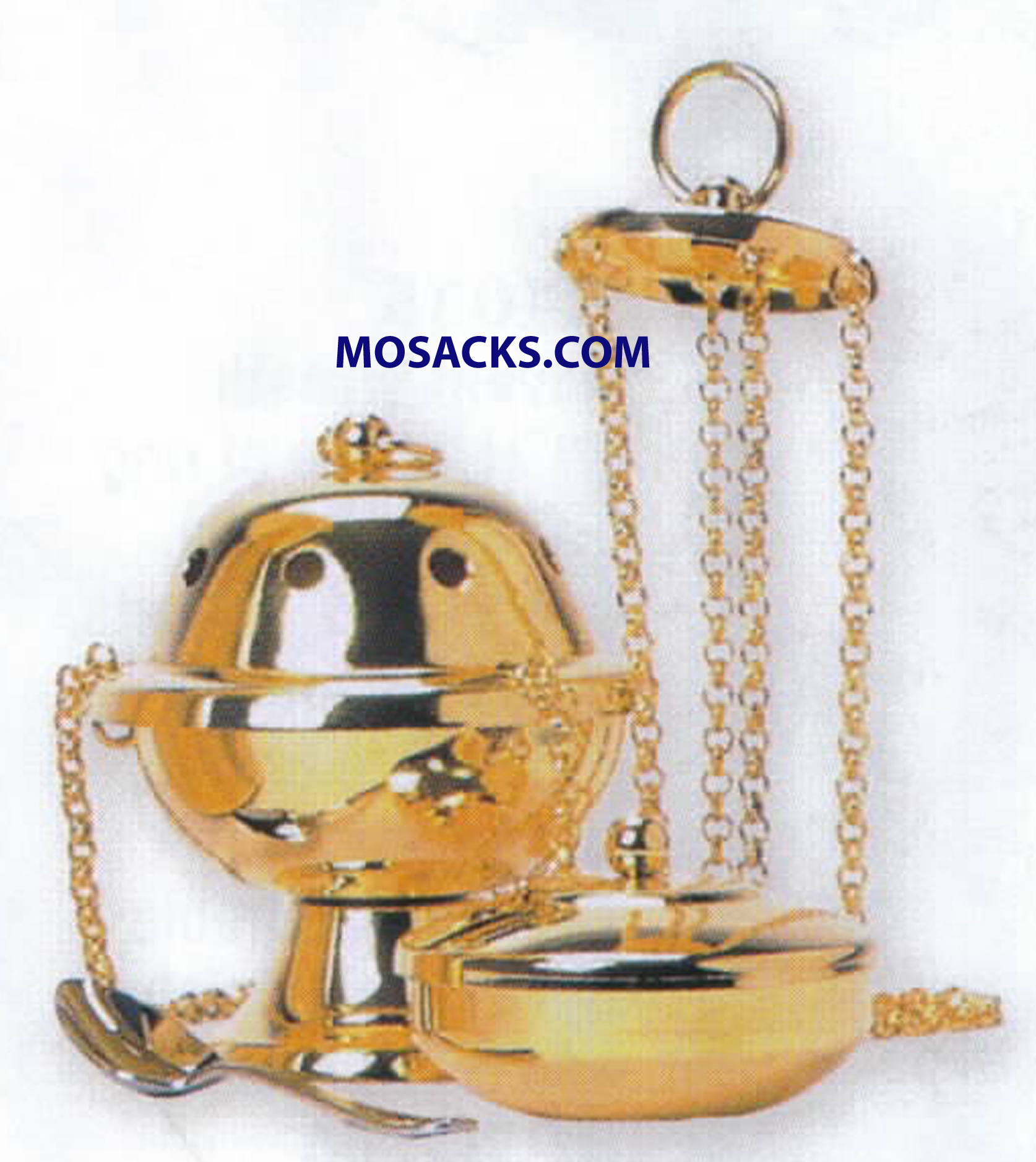 K Brand Censer And Boat 4.5 Inch-K1001