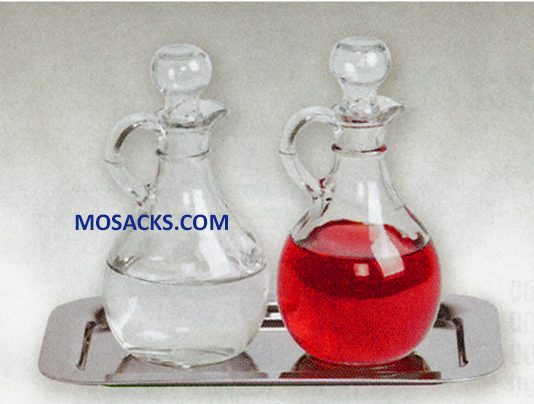 K Brand Cruet Set With Stainless Steel Tray K381