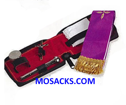 K Brand Sick Call Set with Leather Zipper Case-K713