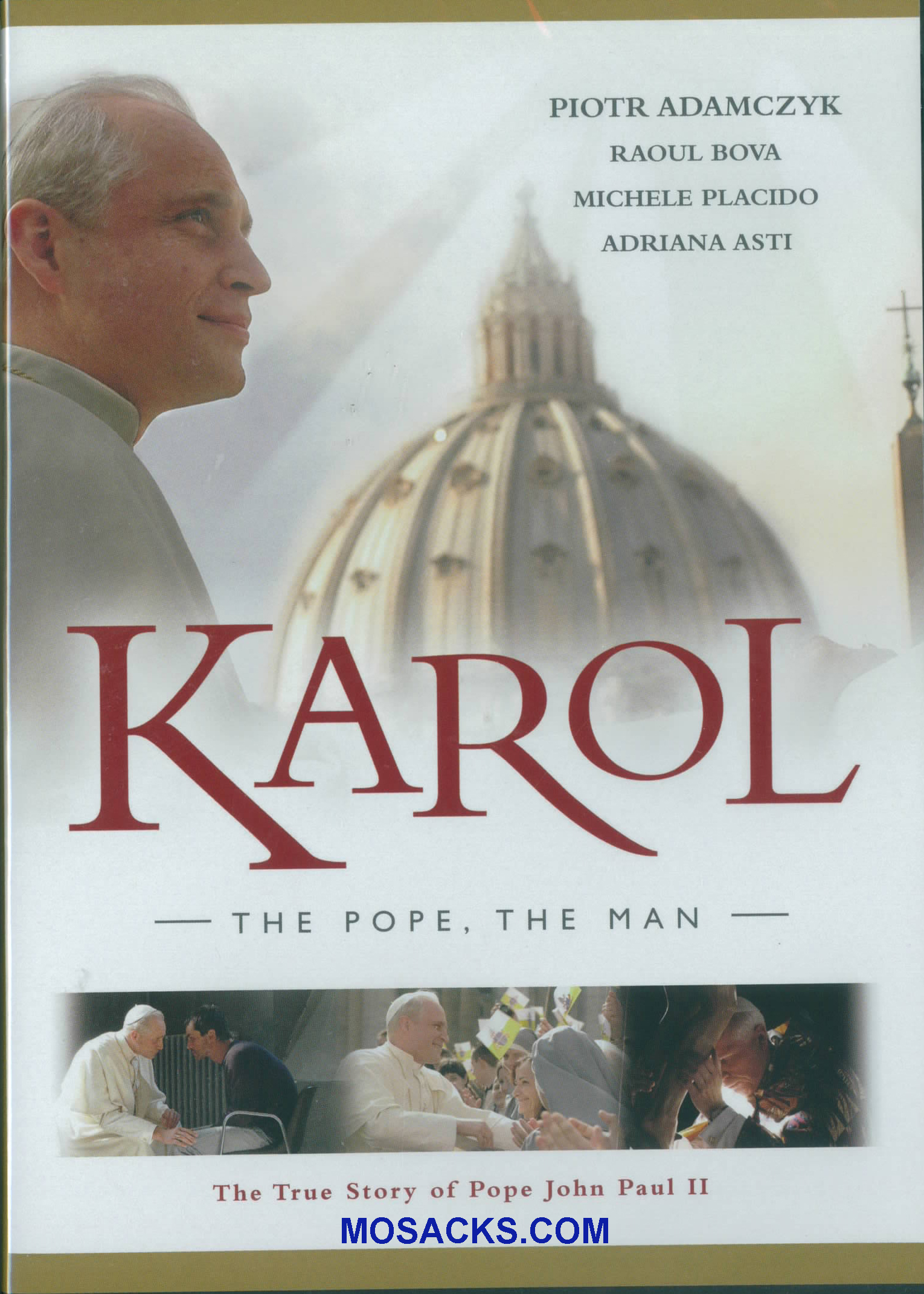 DVD-Karol The Pope The Man -KPM-M