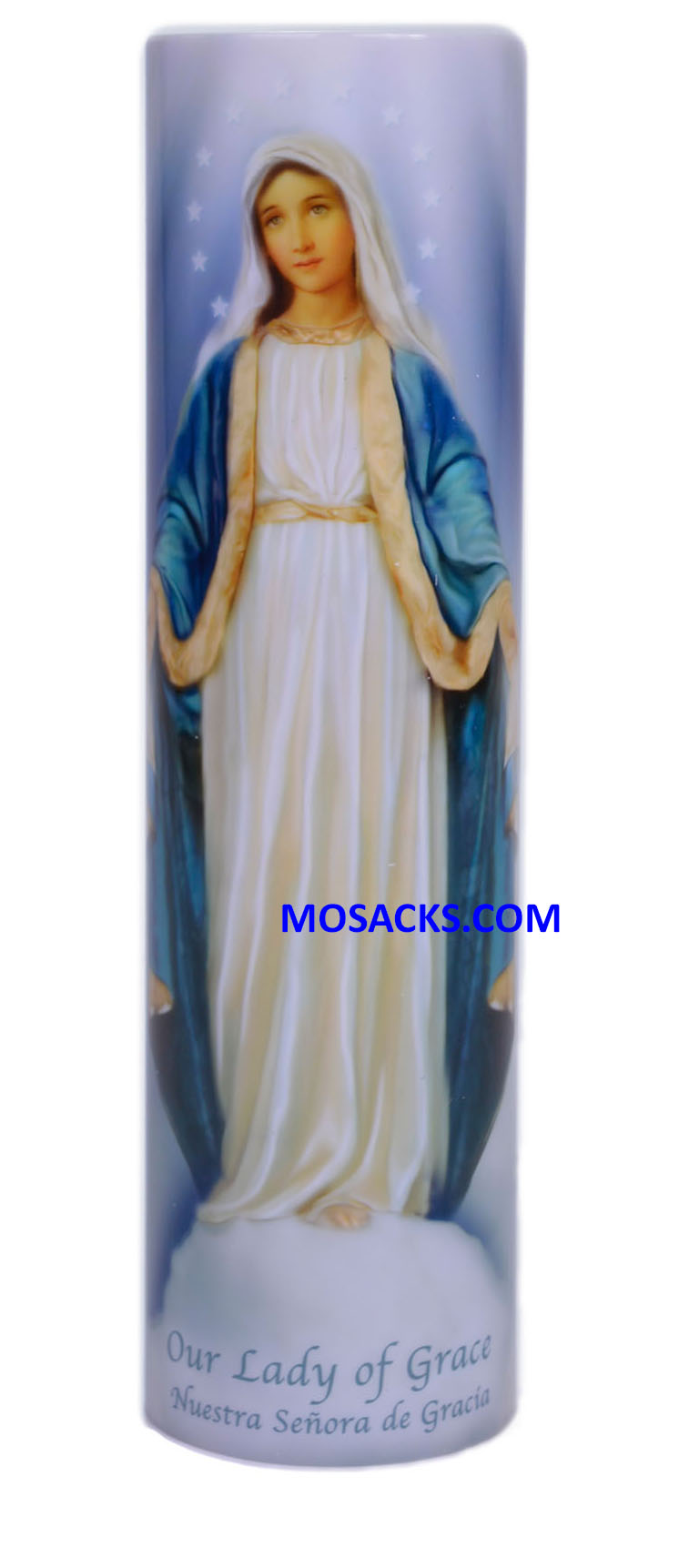 Lady of Grace LED Candle C-8003