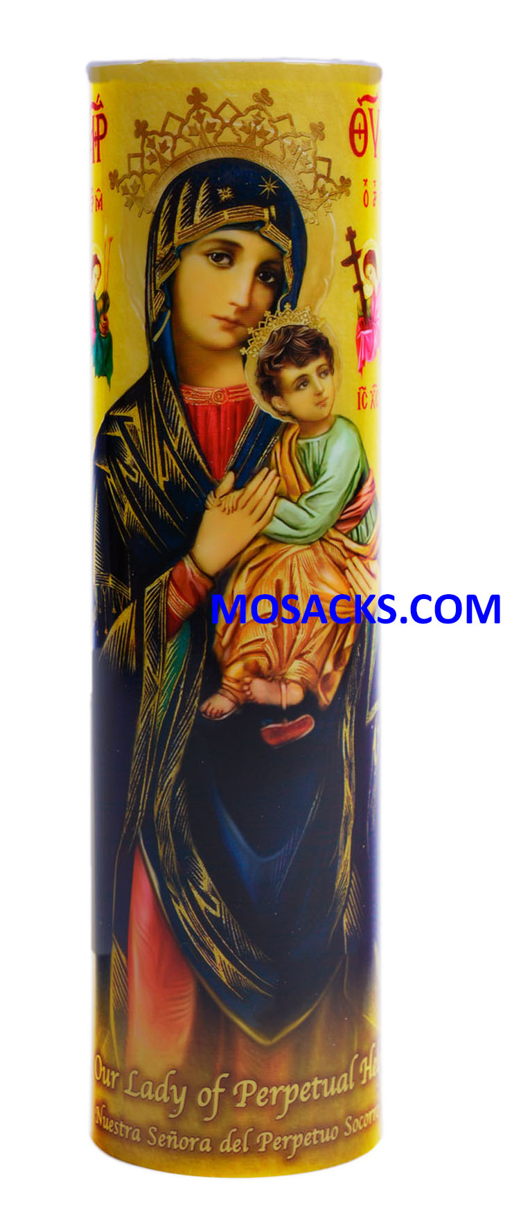 Our Lady of Perpetual Help LED Candle C-8004