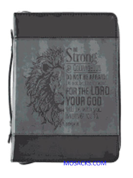 Large Lux Leather Bible Cover Joshua 19 1220000130135