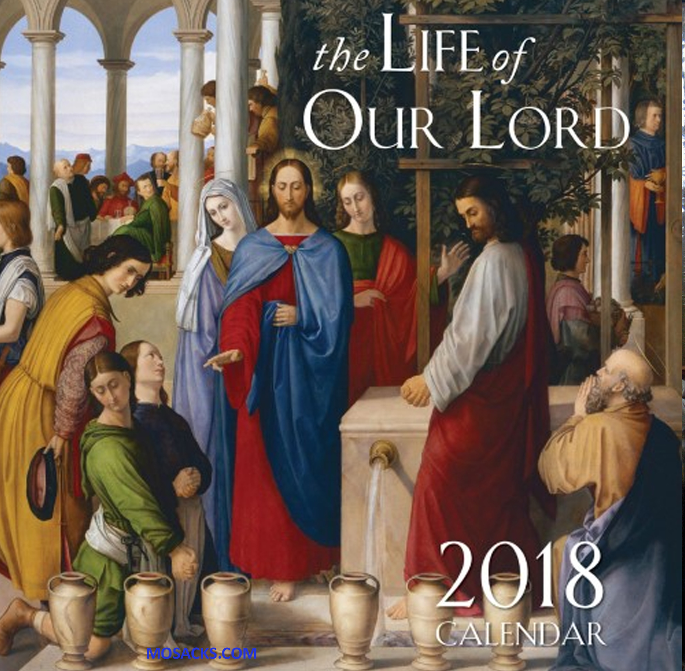 Life of Our Lord 2018 Wall Calendar 812-9781505109955