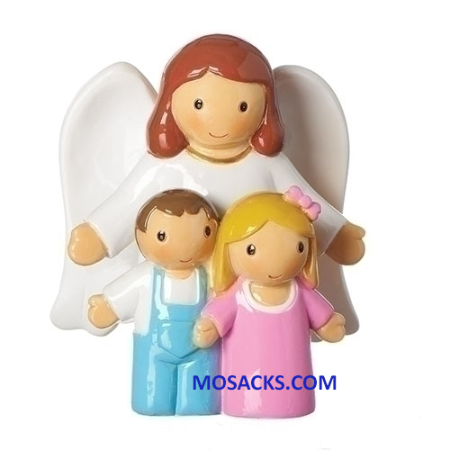 Little Drops Of Water Guardian Angel with Children Figure 20-12695