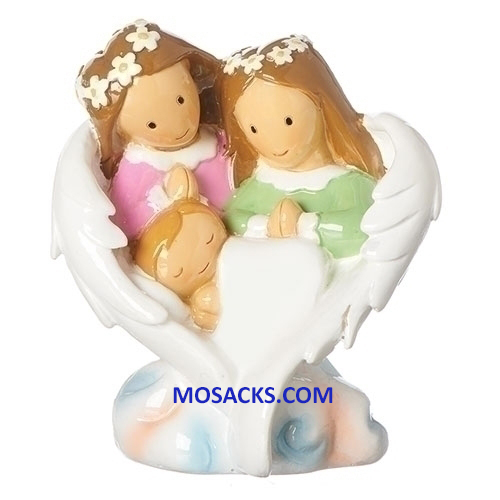 Little Drops Of Water Guardian Angel Family Figure 20-12698