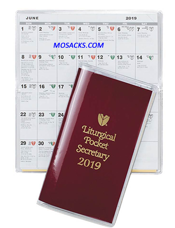 Liturgical Pocket Secretary 2020