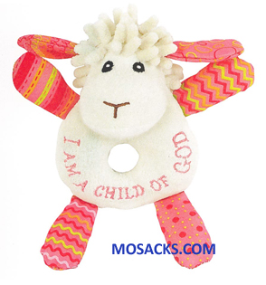 Lucy The Little Lamb Rattle 462-W210541