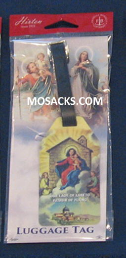 Luggage Tags Our Lady of Loreto Flexible Poly 12-LT-282