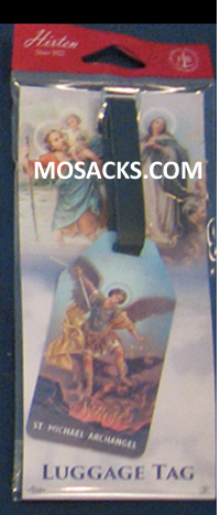 Luggage Tags St. Michael the Archangel Flexible Poly 12-LT-330