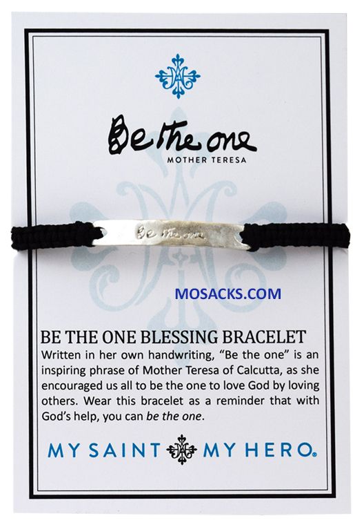 My Saint My Hero Be The One Bracelet Silver BR00060-S-101