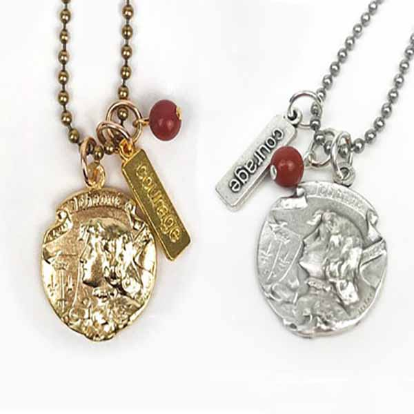 MSMHSt. Joan of Arc Together We Rise Necklace Nk0074