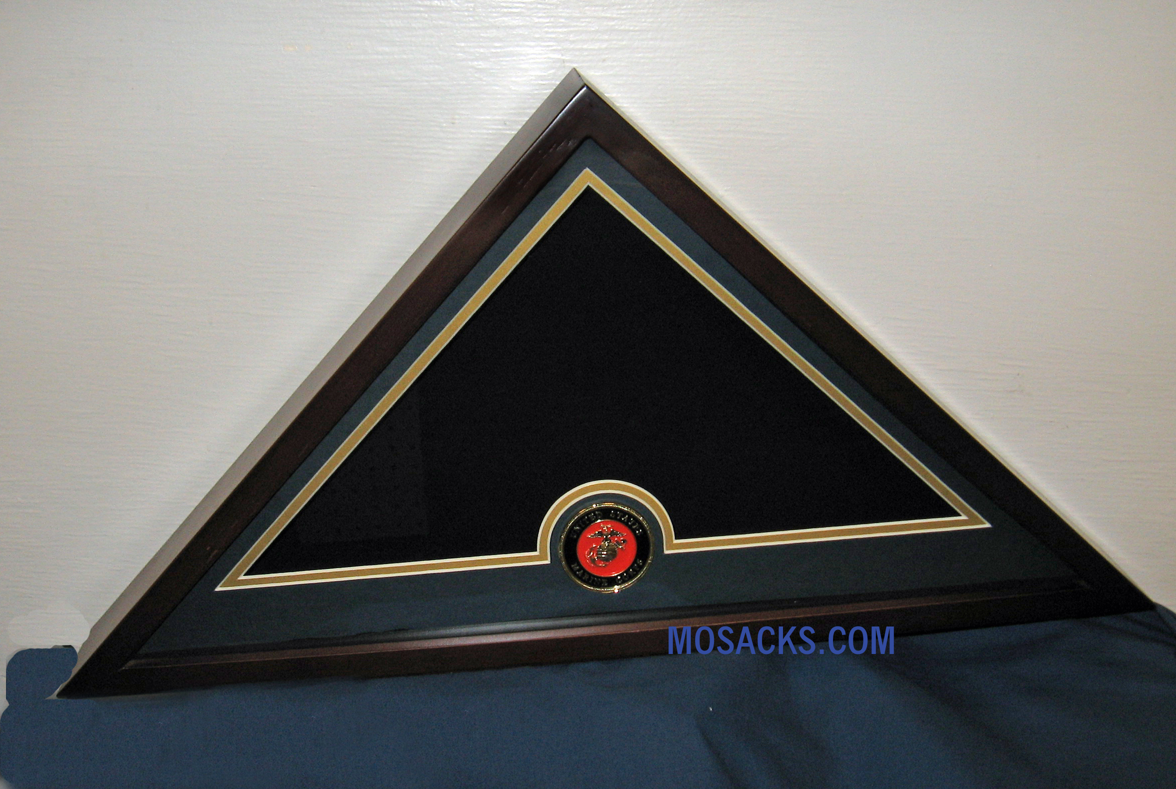 Flag Display Case with Marine Corps Medallion #28400