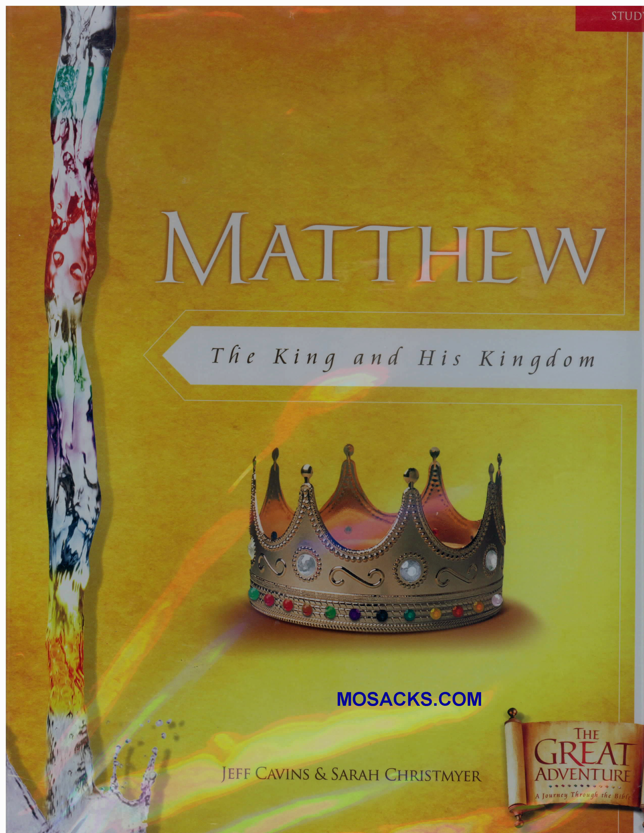 The Bible Timeline Matthew: King and His Kingdom Study Set 9781932645941