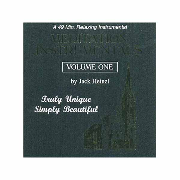 Meditation Instrumentals Volume 1 by Jack Heinzl