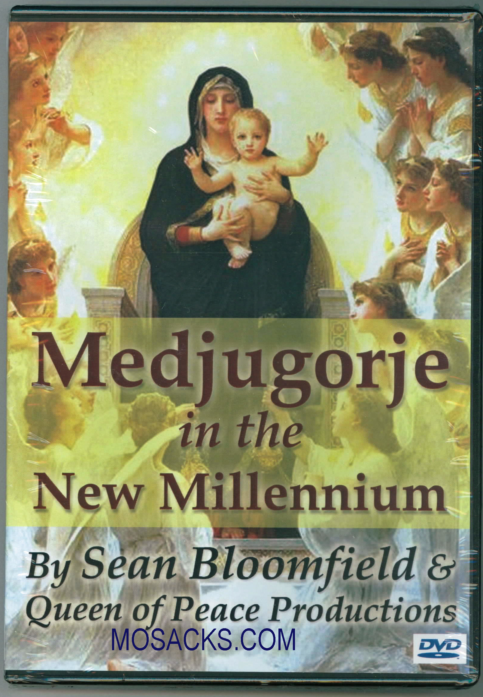 DVD-Medjugorje In The New Millennium Queen of Peace Productions 463-QOPP1
