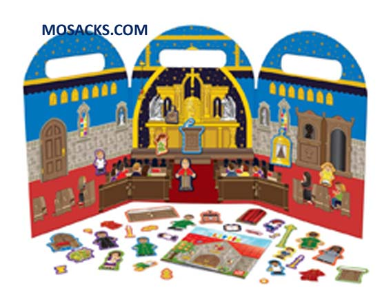My Little Church Magnet Play Set 462-W201591