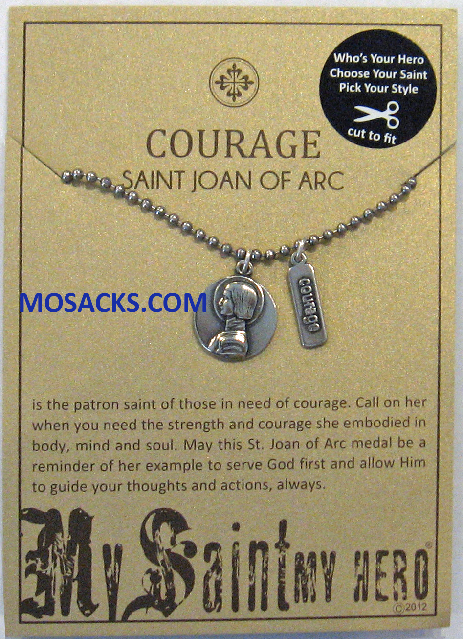 My Saint My Hero Trust St. Joan of Arc Necklace-NBBS-7 RETIRED