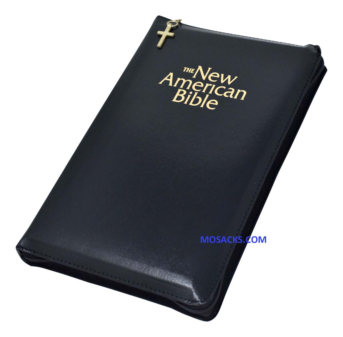 NABRE Deluxe Zipper Gift Bible W2405Z Black 9780529061898 from Catholic Book Publishing