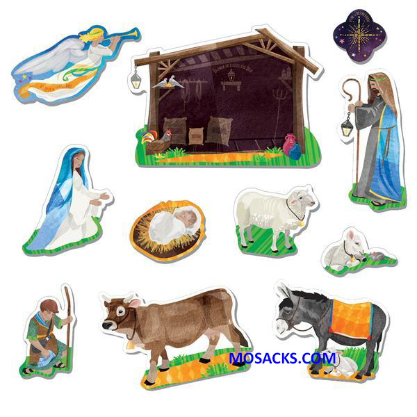 Nativity Fridge Magnets 462-W3116200