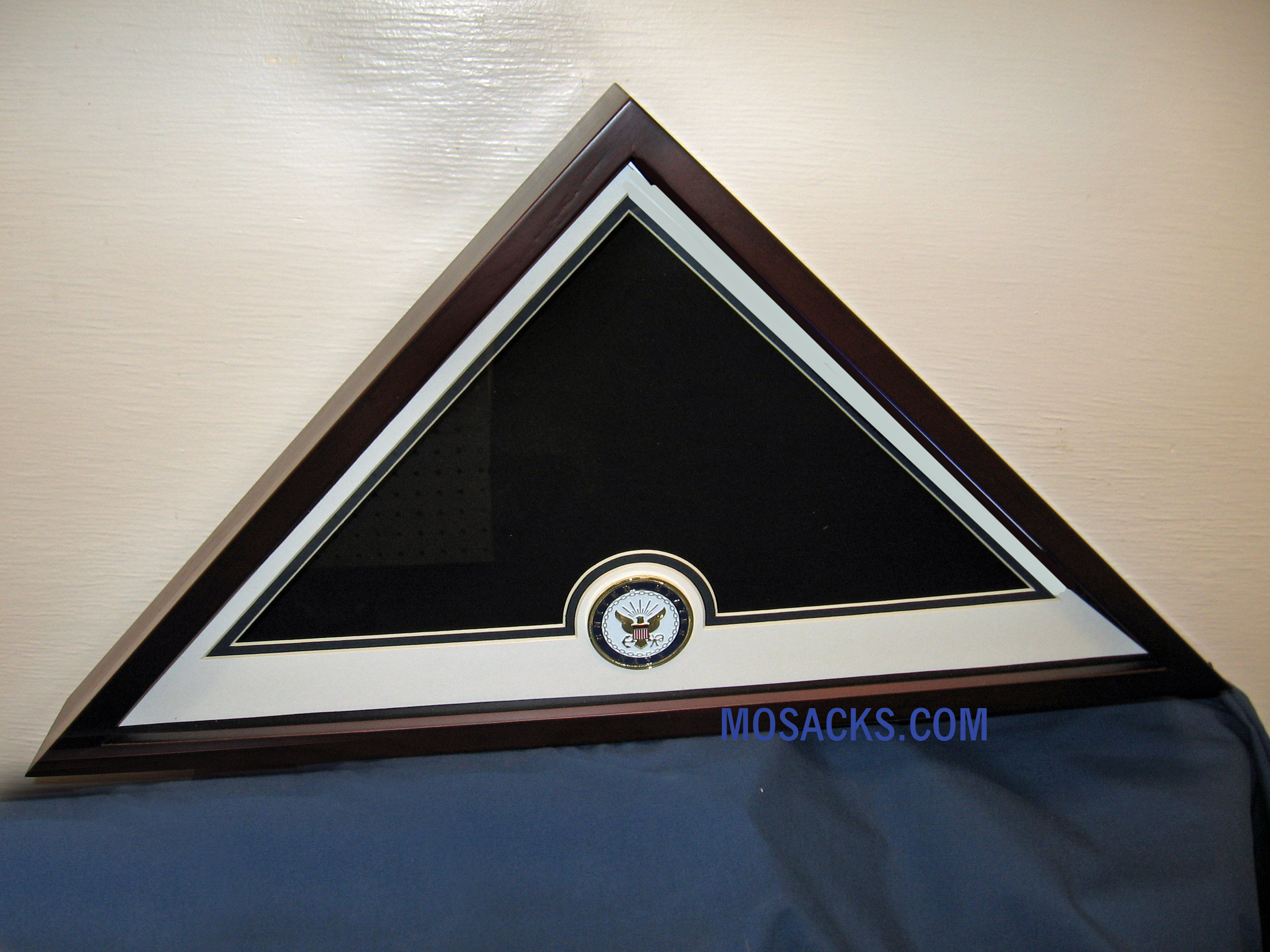 Flag Display Case with Navy Medallion #28100
