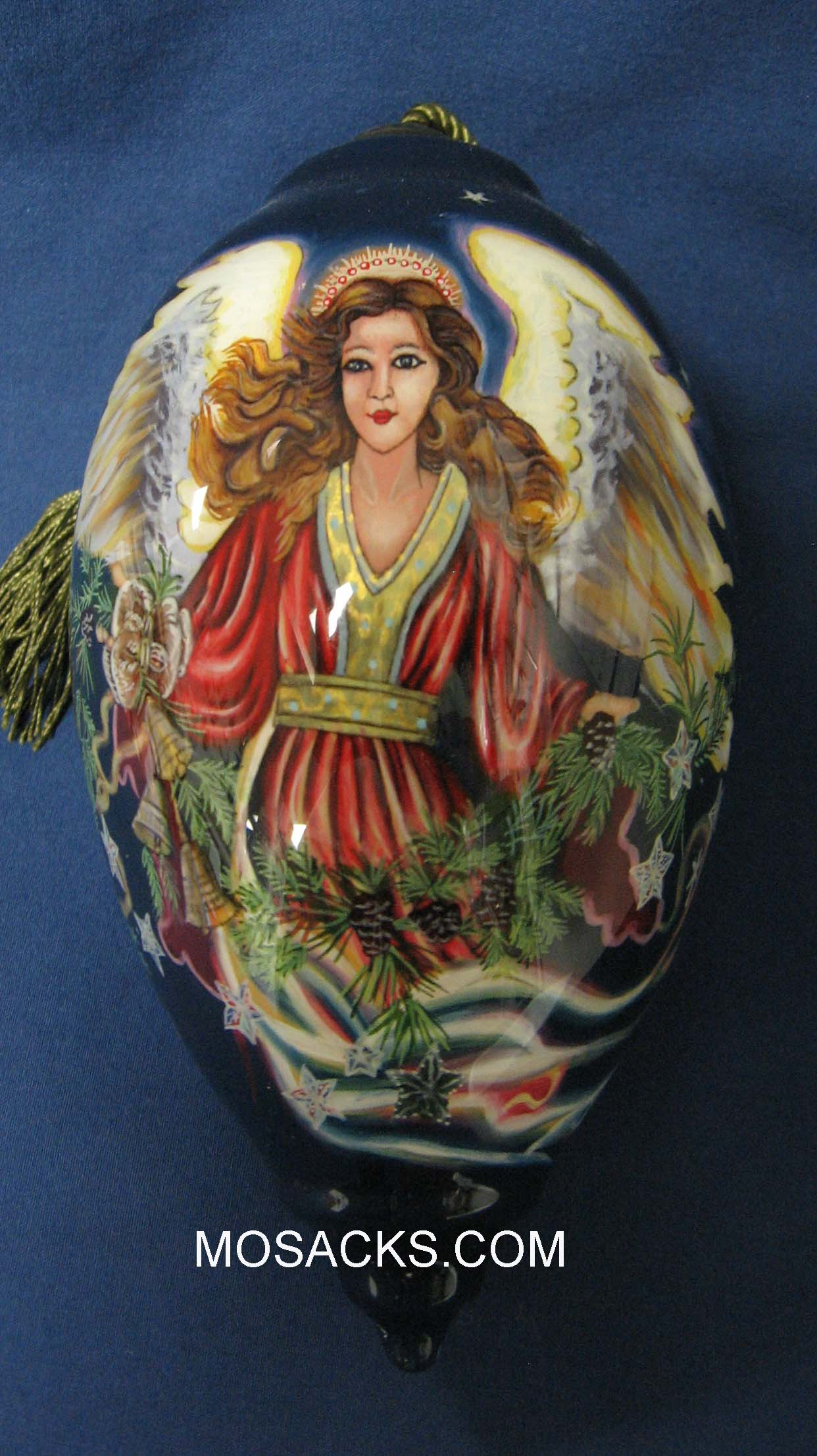 Ne'Qwa Art™ Hand-Painted Ornament Christmas Blessings 372