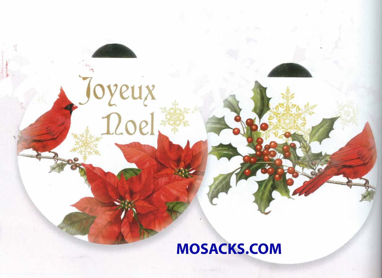 Ne'Qwa Art™ Hand-Painted Ornament Joyeux Noel 466-7151140
