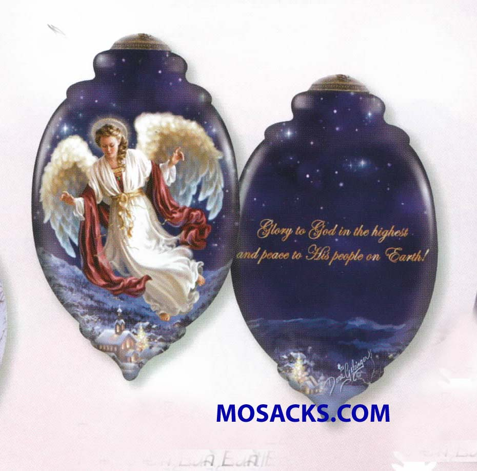 Ne'Qwa Art™ Hand-Painted Ornament Peace On Earth 466-7141110