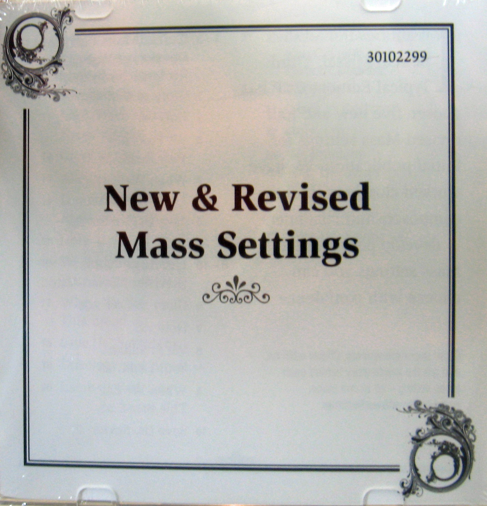 New and Revised Mass Settings CD by Oregon Catholic Press 65-30102299