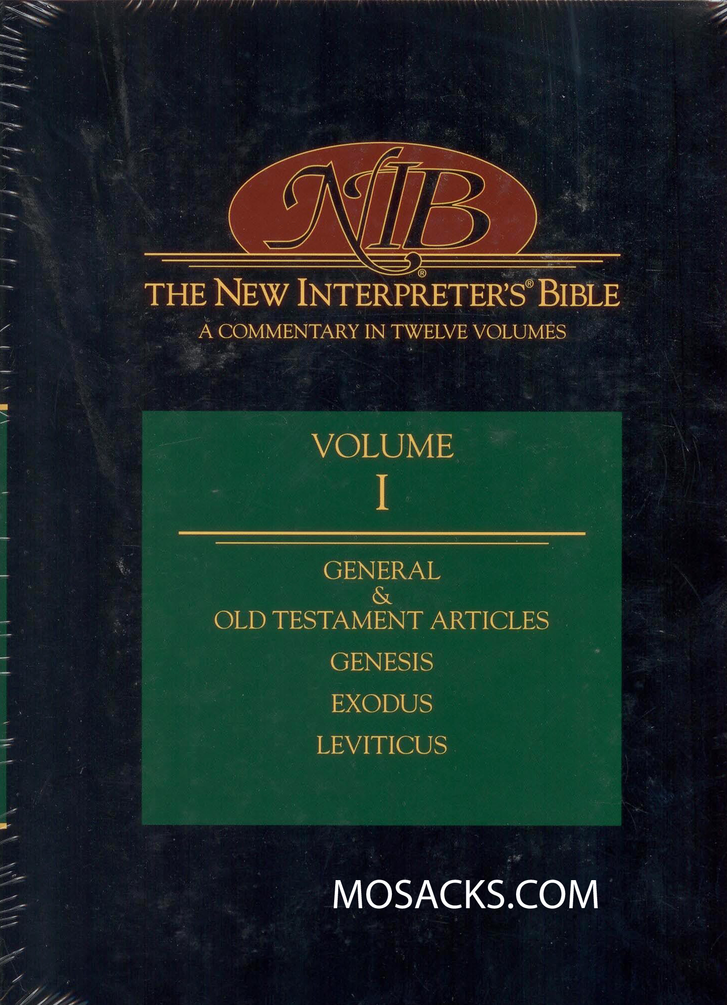 The New Interpreter's Bible Volume I  Hardcover 9780687278145