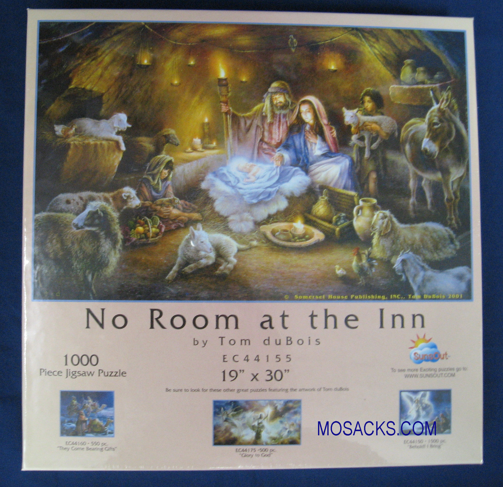 No Room At The Inn 1000 piece 19x30 Inch Puzzle EC44155