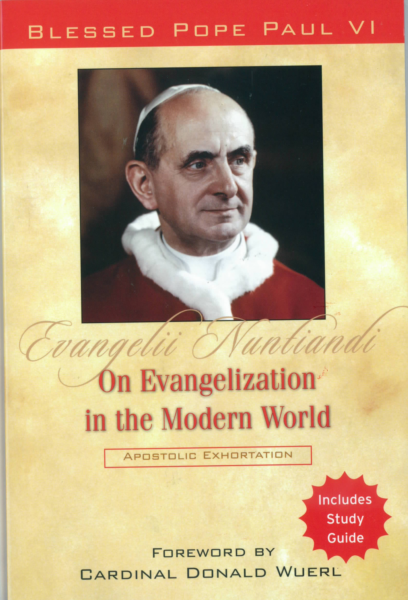 On Evangelization in the Modern World from Pope Paul VI 108-9781593252670