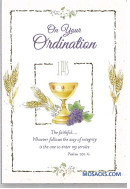 On Your Ordination Greeting Card -238-ORD87775