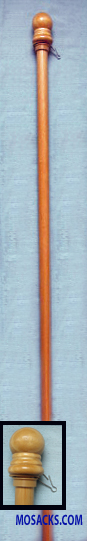 5' Outdoor Hardwood Flagpole, #60705