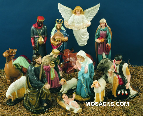 Outdoor PVC Nativity