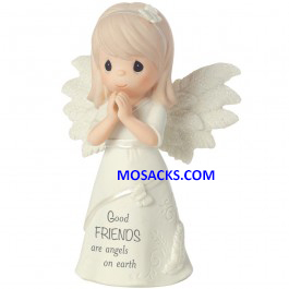Precious Moments Good Friends Are Angels On Earth-161063