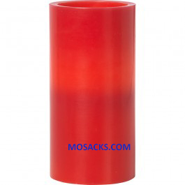 "Precious Moments LED Red Pillar Candle 6""h 171401"