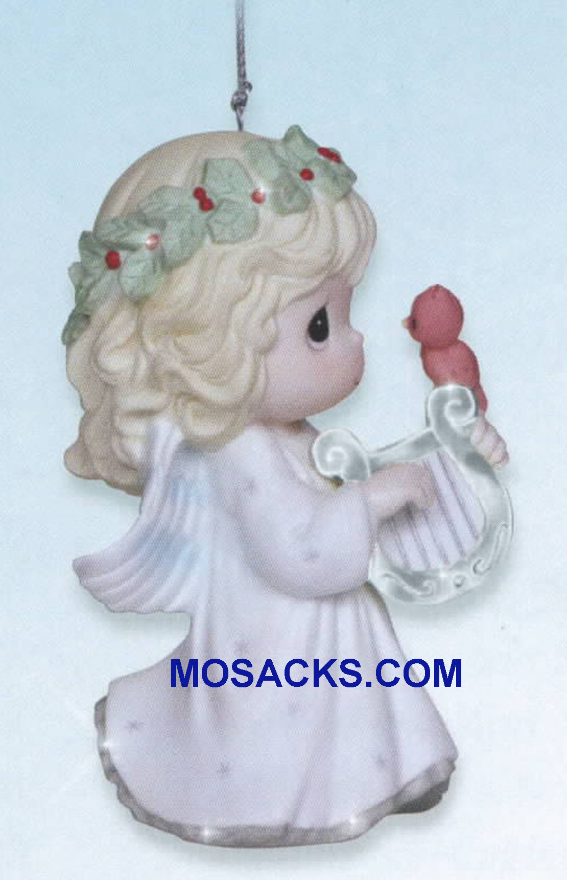 "Precious Moments Angel Ornament Let Heaven And Nature Sing 3.5""H 131027"