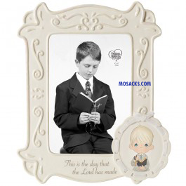Precious Moments This Is The Day Communion Boy Frame -153401