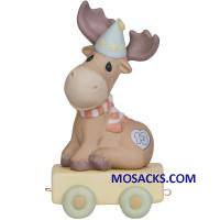 "Precious Moments Birthday Train, You Mean The Moose To Me, Age 13 4.75"" 142033"