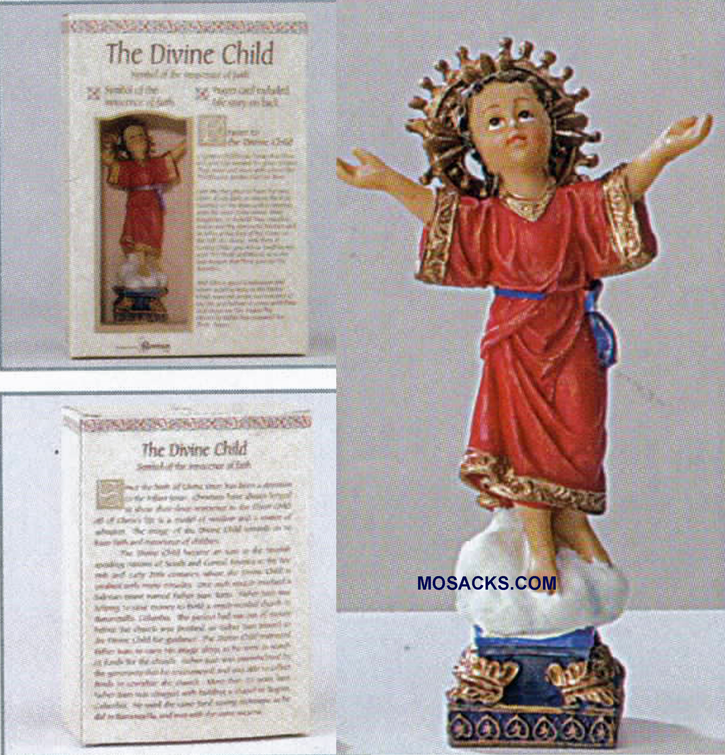 Patrons and Protectors Divine Child Statue -41827