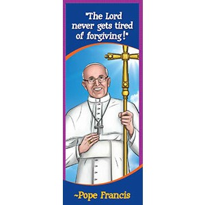 Pope Francis Bookmark-BKMK05