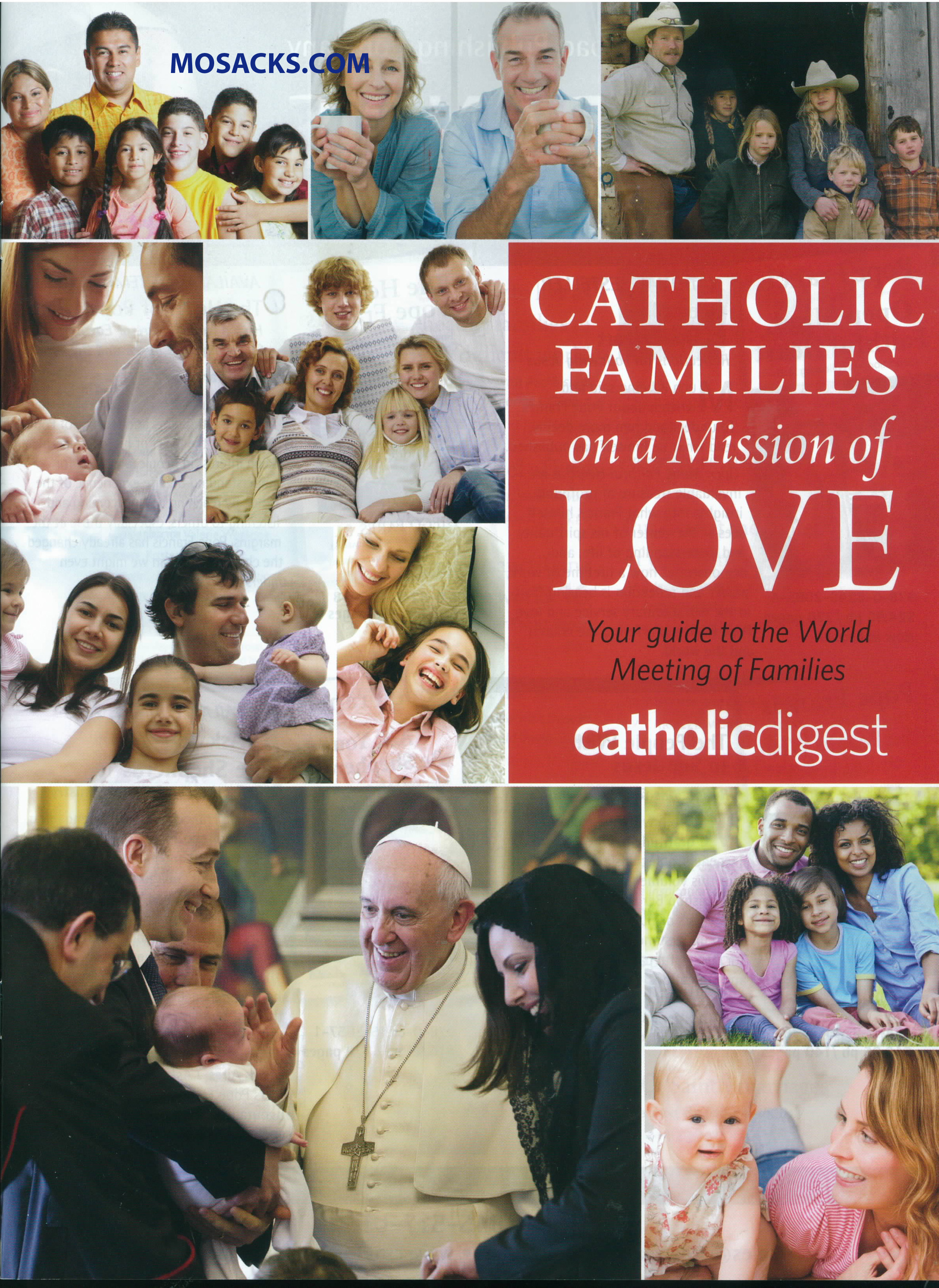 Pope Francis Catholic Families Mission Of Love 2015 Catholic Digest 84-CATH