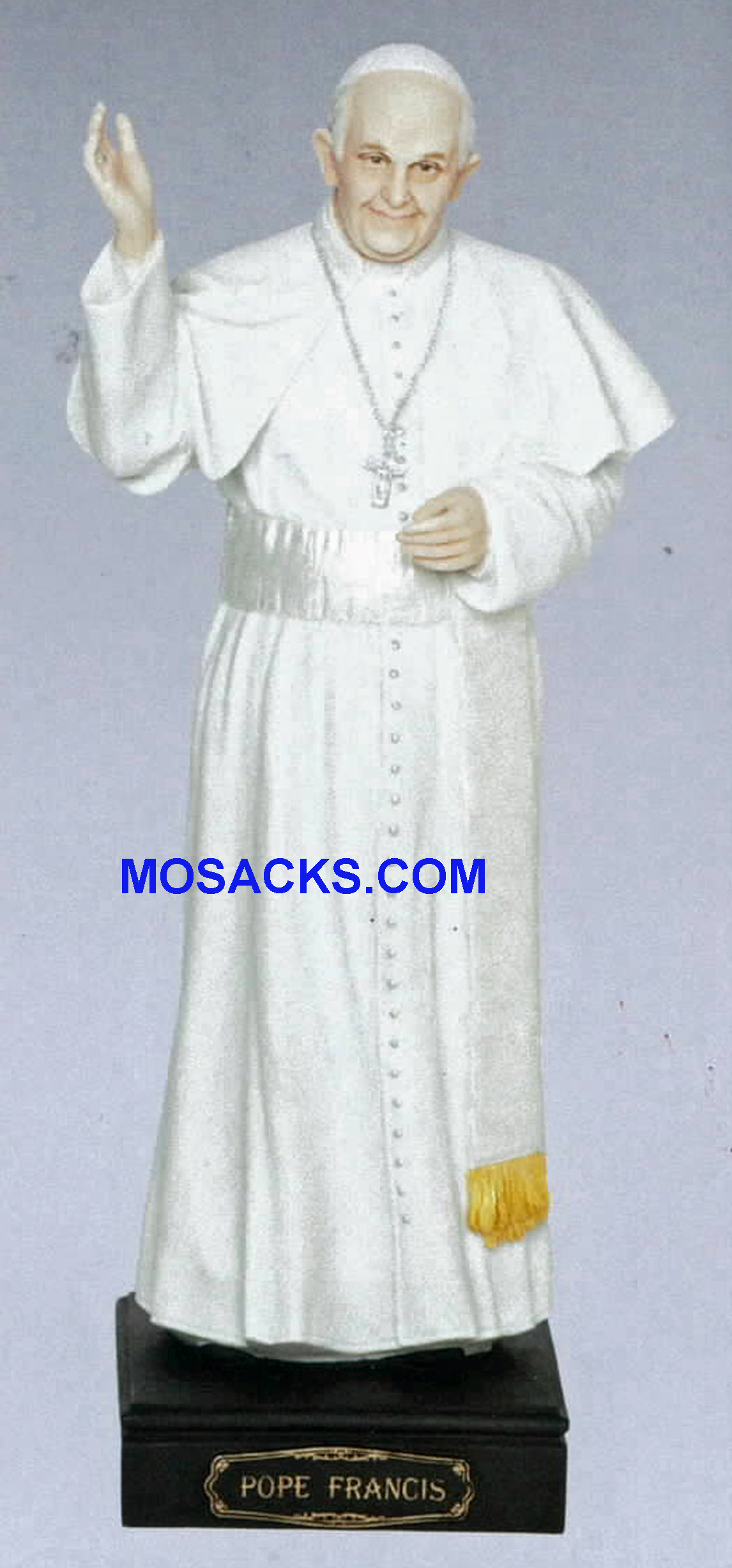 "Pope Francis Statue 11"" high 40445"