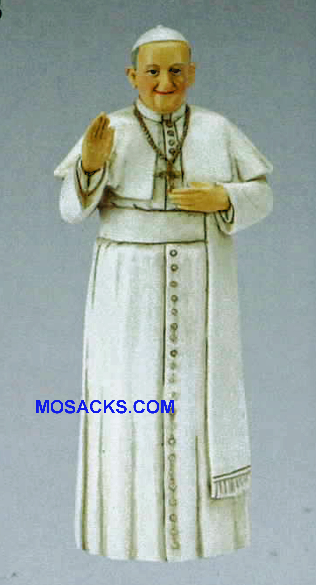 "Patrons and Protectors Pope Francis Statue 4"" h 43239"