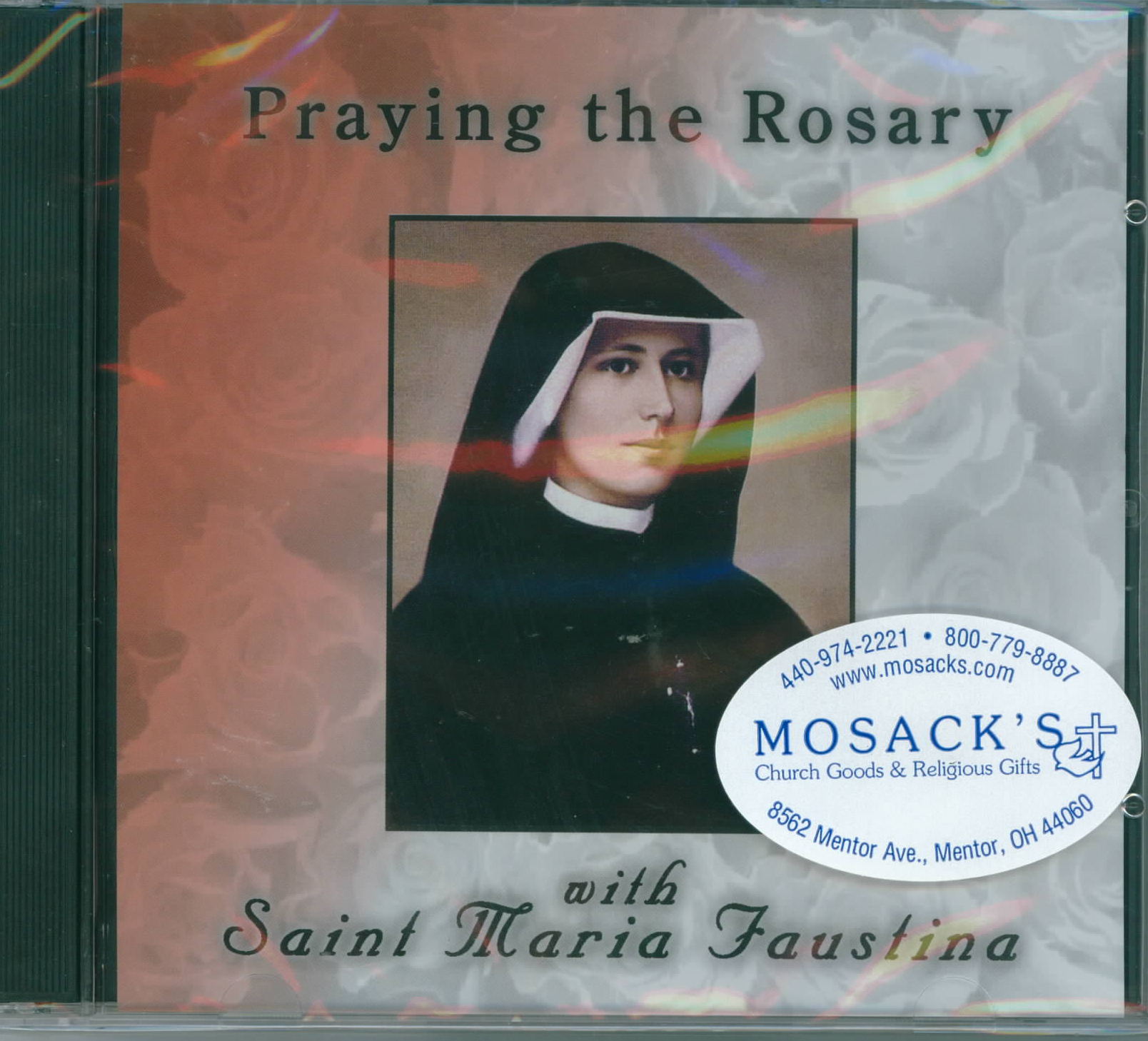 Praying The Rosary With St Faustina CD 249-880414104224