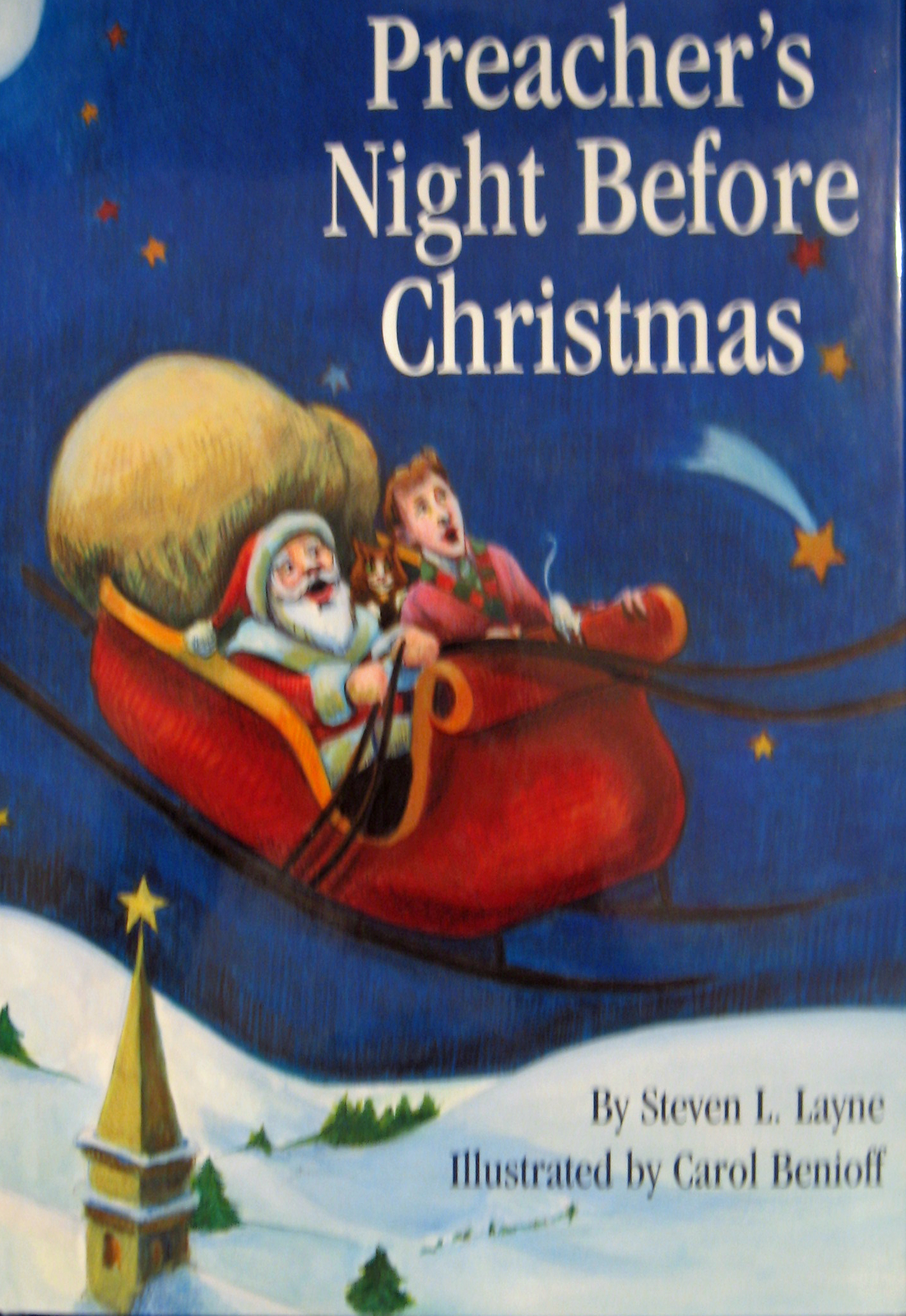 Preacher's Night Before Christmas by Steven L. Layne 108-9781589803213